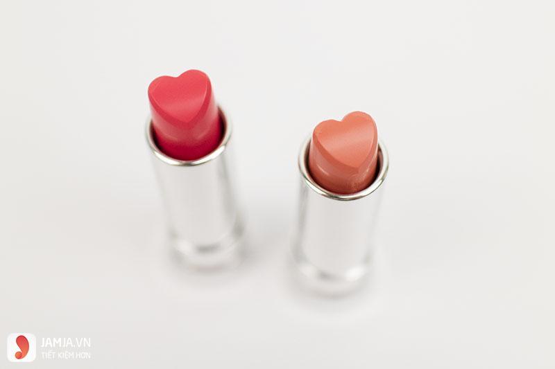 thiết kế Son Holika Holika Heartful Cream Lipstick