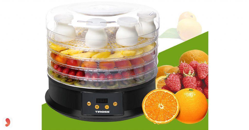thiết kế máy sấy hoa quả