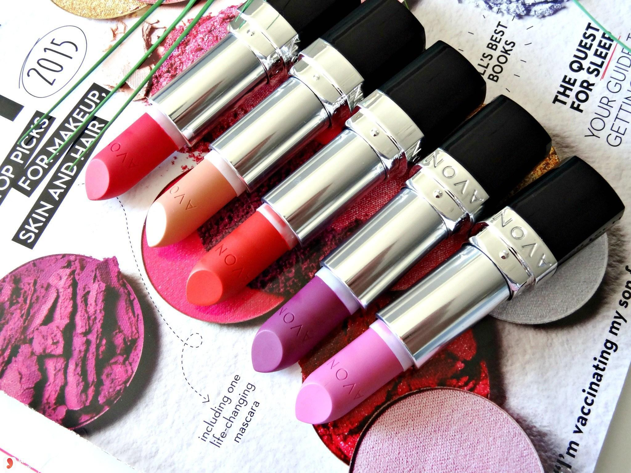 Thiết kế của son Avon Perfectly Matte Lipstick Line