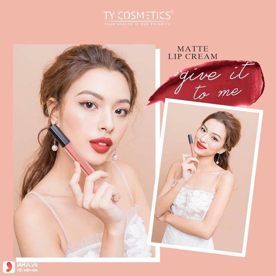Thiết kế của sonTy Cosmetics Matte Lip Cream