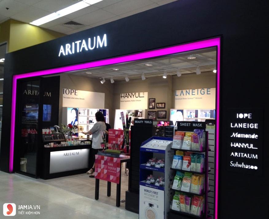thương hiệu mỹ phẩm Aritaum 1