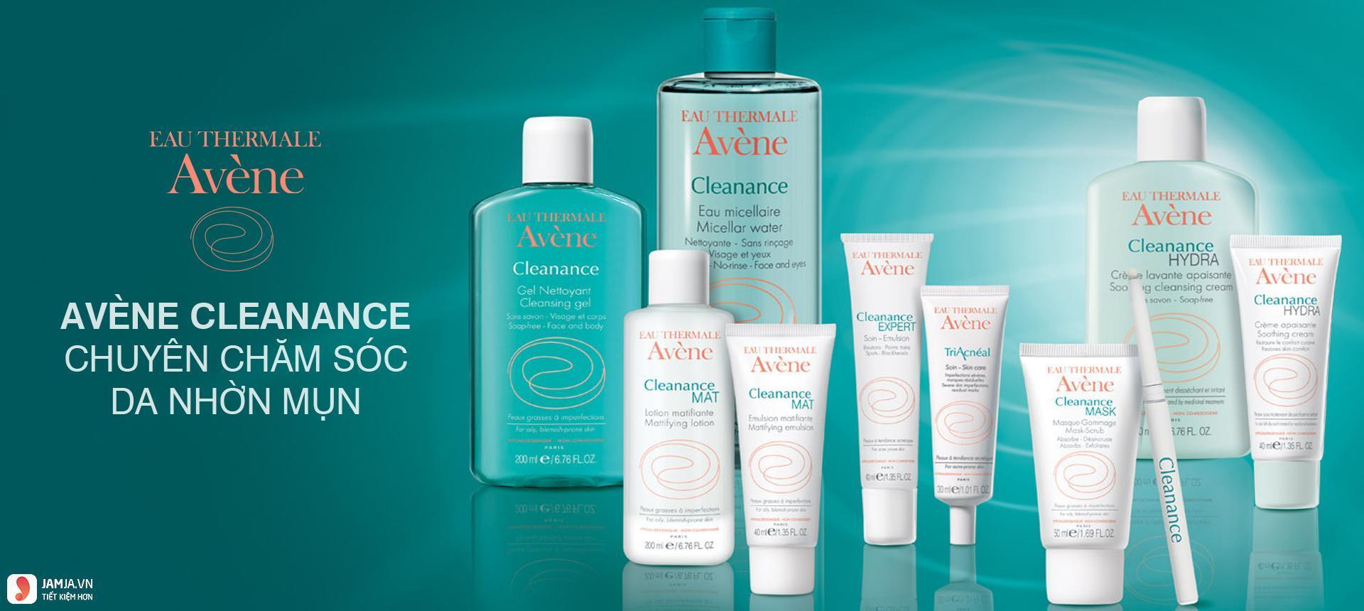 thương hiệu mỹ phẩm Avène