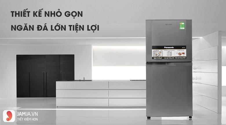 Tủ lạnh2 cửa Panasonic 135 lít NR-BJ158SSV1 1