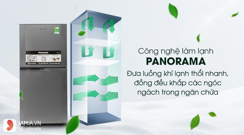 Tủ lạnh2 cửa Panasonic 135 lít NR-BJ158SSV1 3