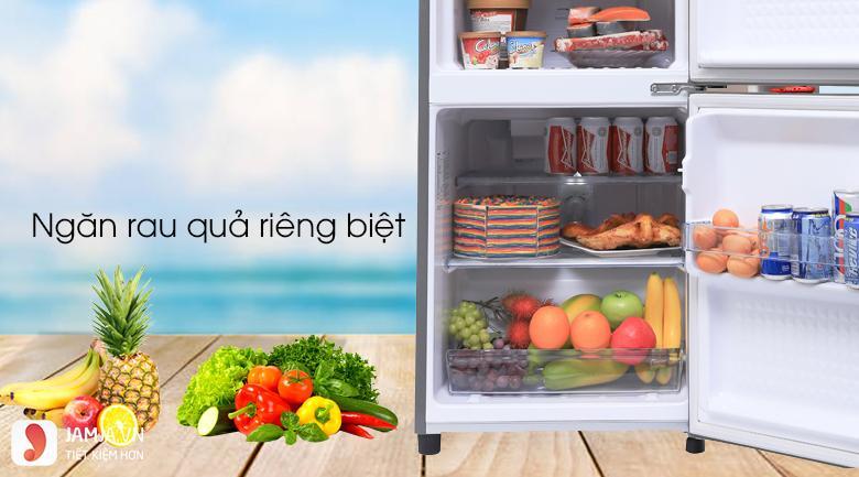 Tủ lạnh2 cửa Panasonic 135 lít NR-BJ158SSV1 4