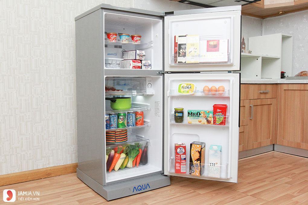 Tủ lạnh Aqua AQR-S205BN (SN) 1