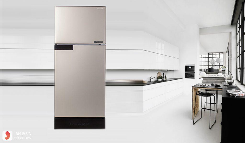 Tủ lạnh Inverter Sharp SJ-X176E-SL 5