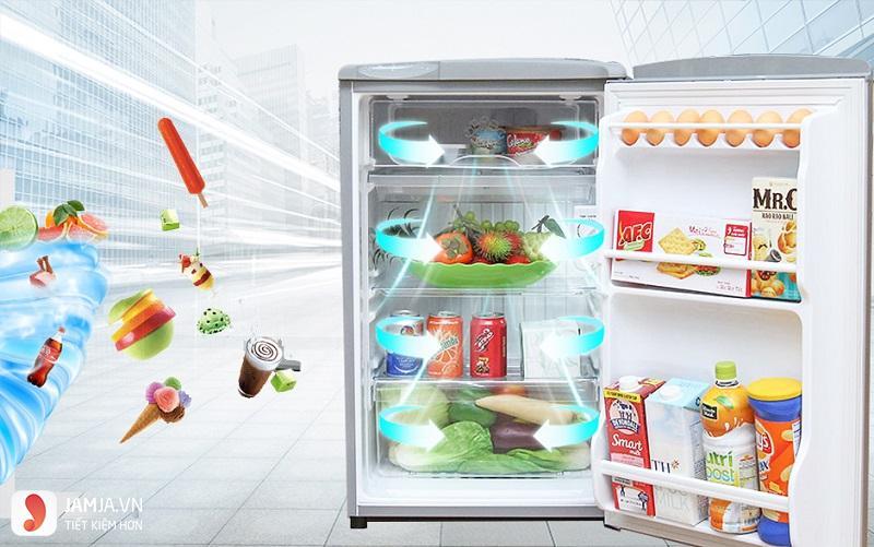 Tủ lạnh Mini AQUA 90 Lít 1 Cửa AQR-95AR 1