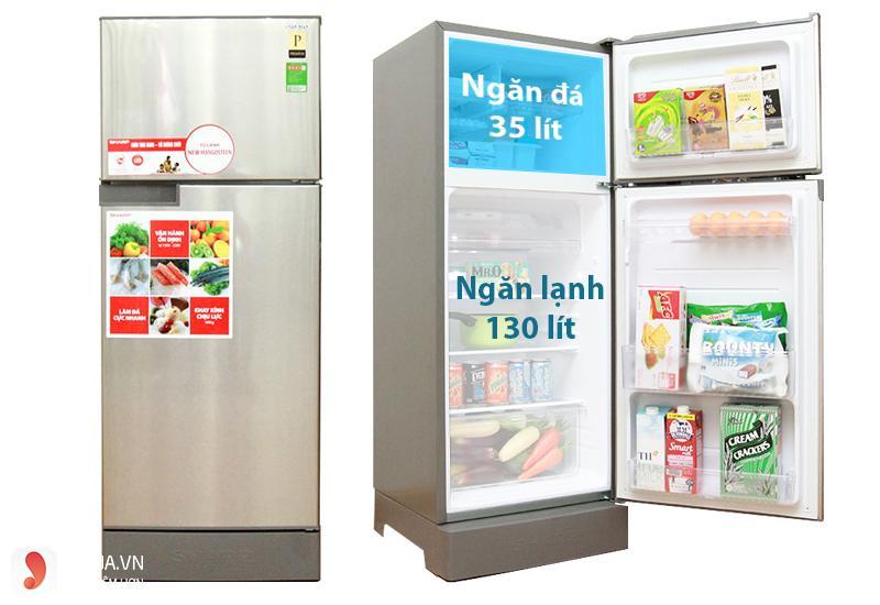 Tủ lạnh Sharp 180 lít SJ-198P-CSA 1