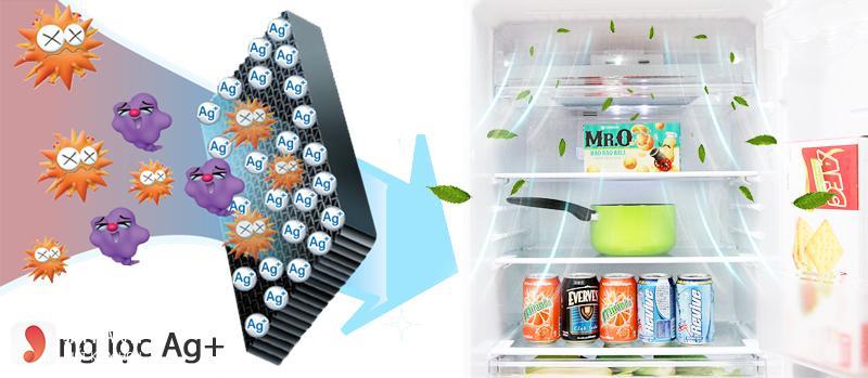 Tủ lạnh Sharp 180 lít SJ-198P-CSA 3