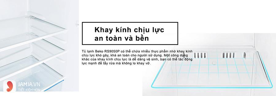 Tủ lạnh Beko 90 lít RS9050P 2