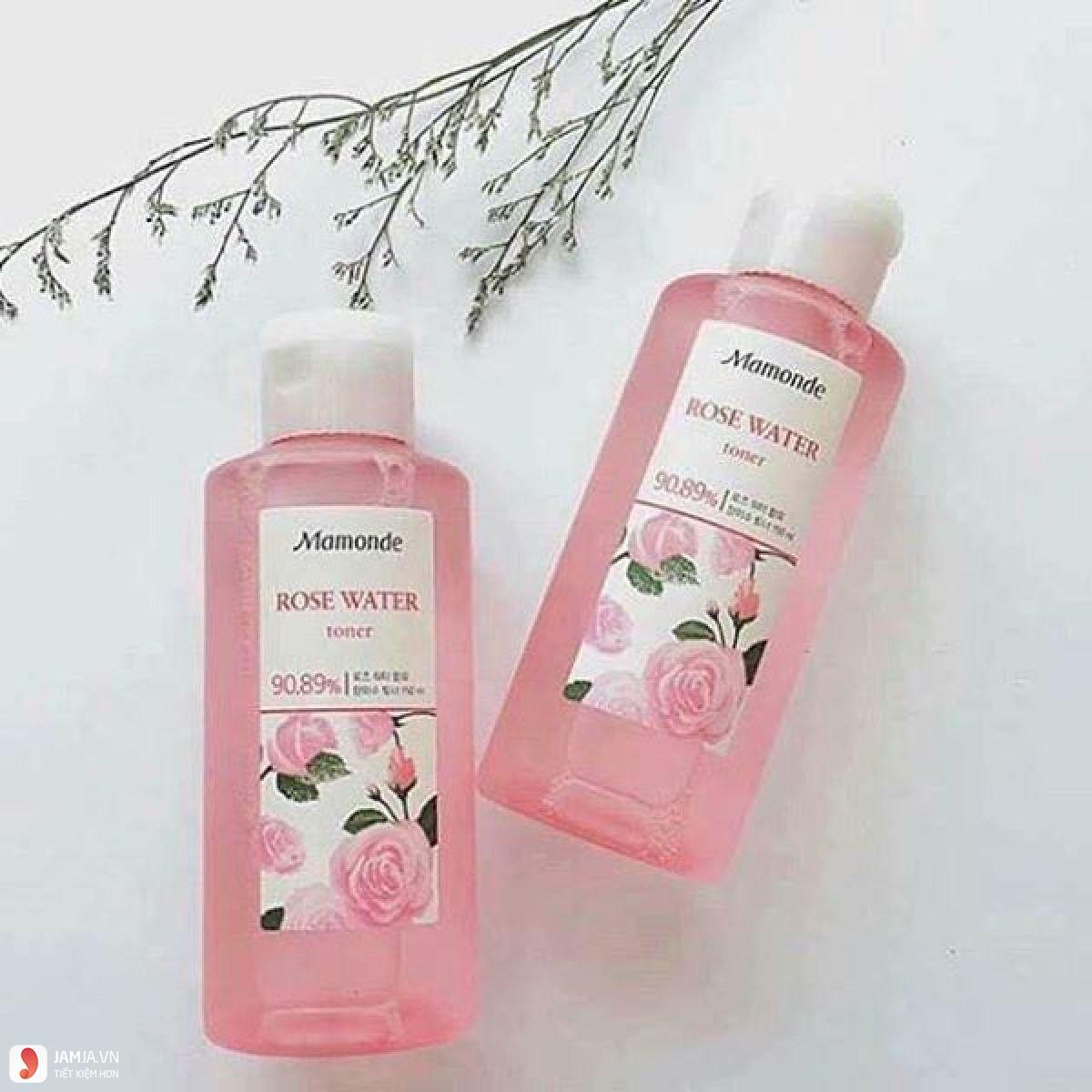 ưu điểm Nước hoa hồng Mamonde Rose Water Toner