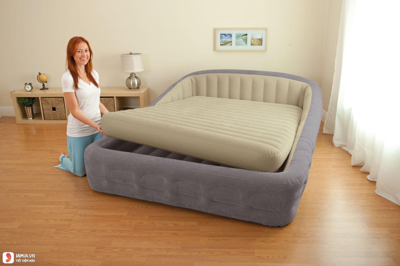 Ưu điểm của giường bơm hơi