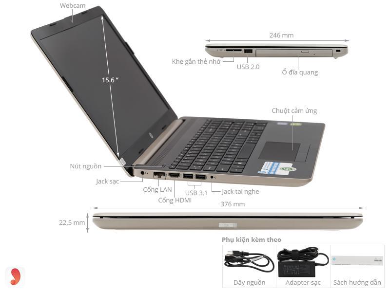 HP 15 da0036TX i7 8550U 1