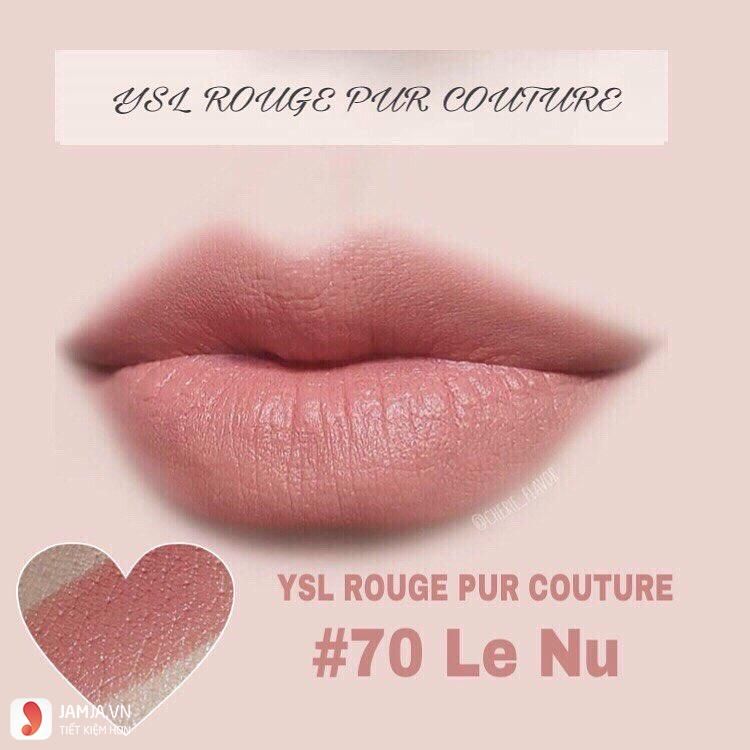 YSL Rouge Pur Couture Kiss & Love Edition màu 70