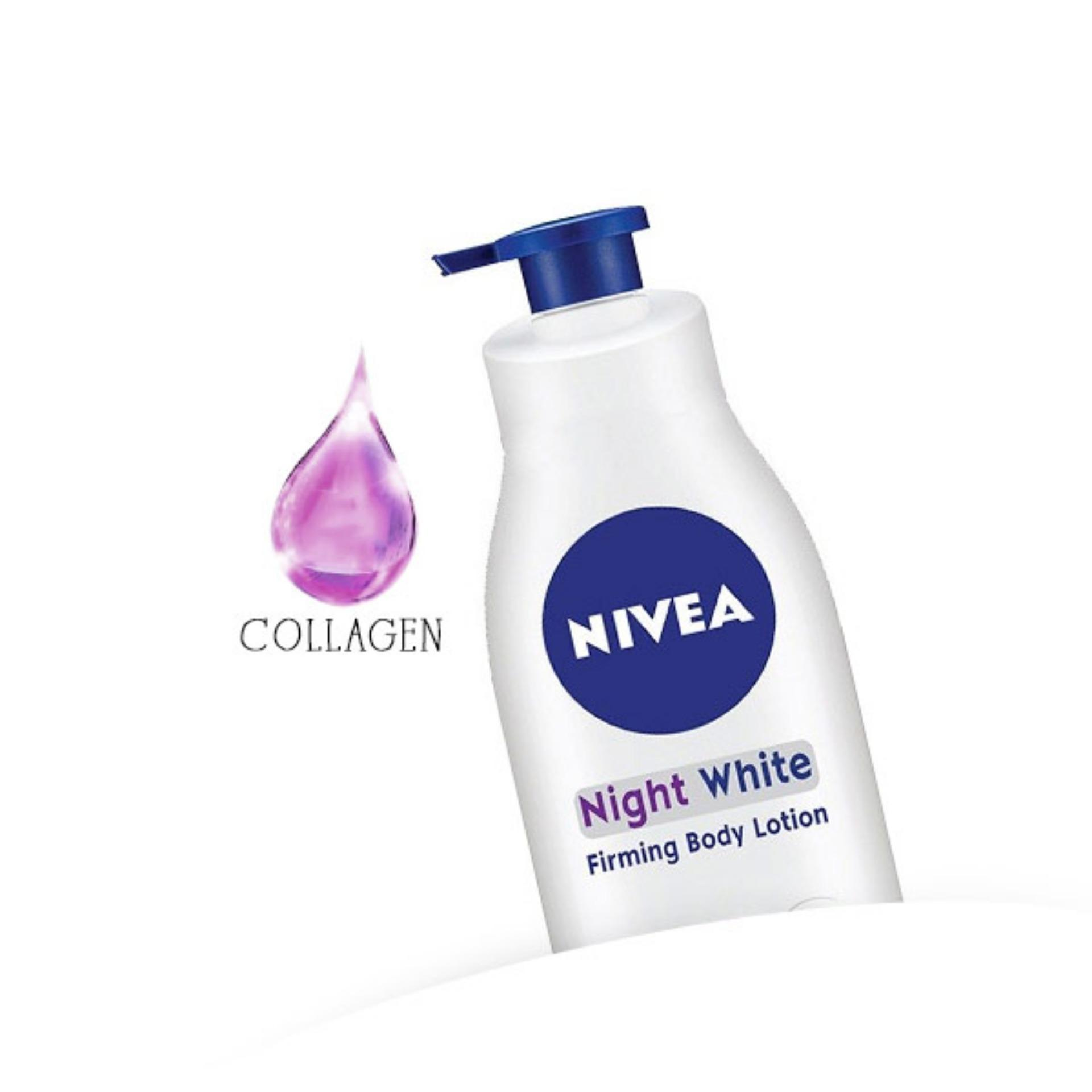 Nivea Night White Firming Body Lotion review
