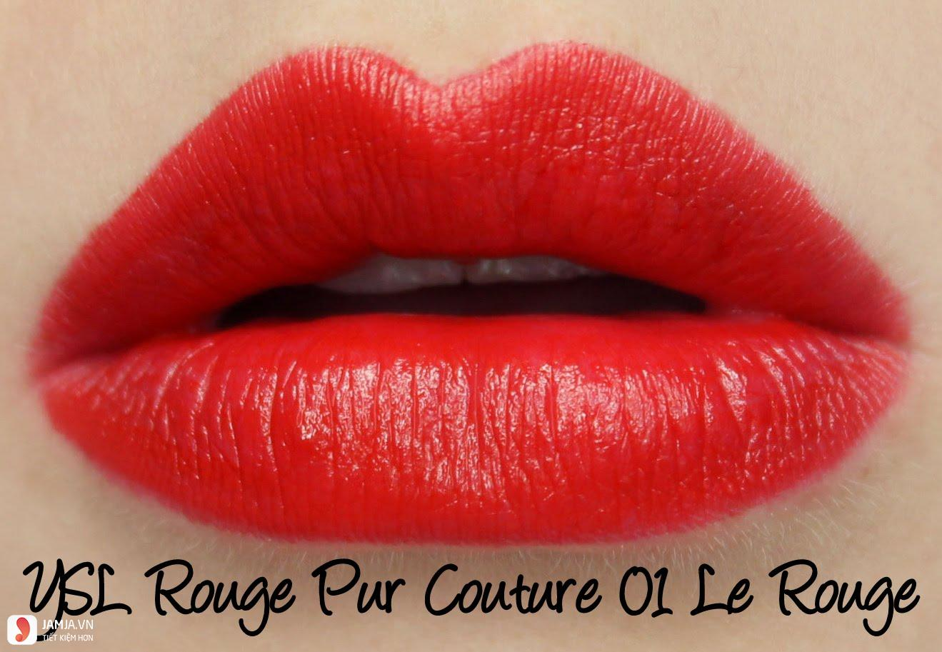 YSL Rouge Pur Couture 01 Le Rouge