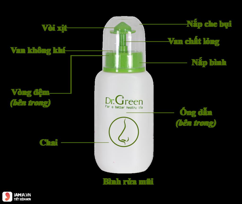 Bình Rửa Mũi Doctor Green 1