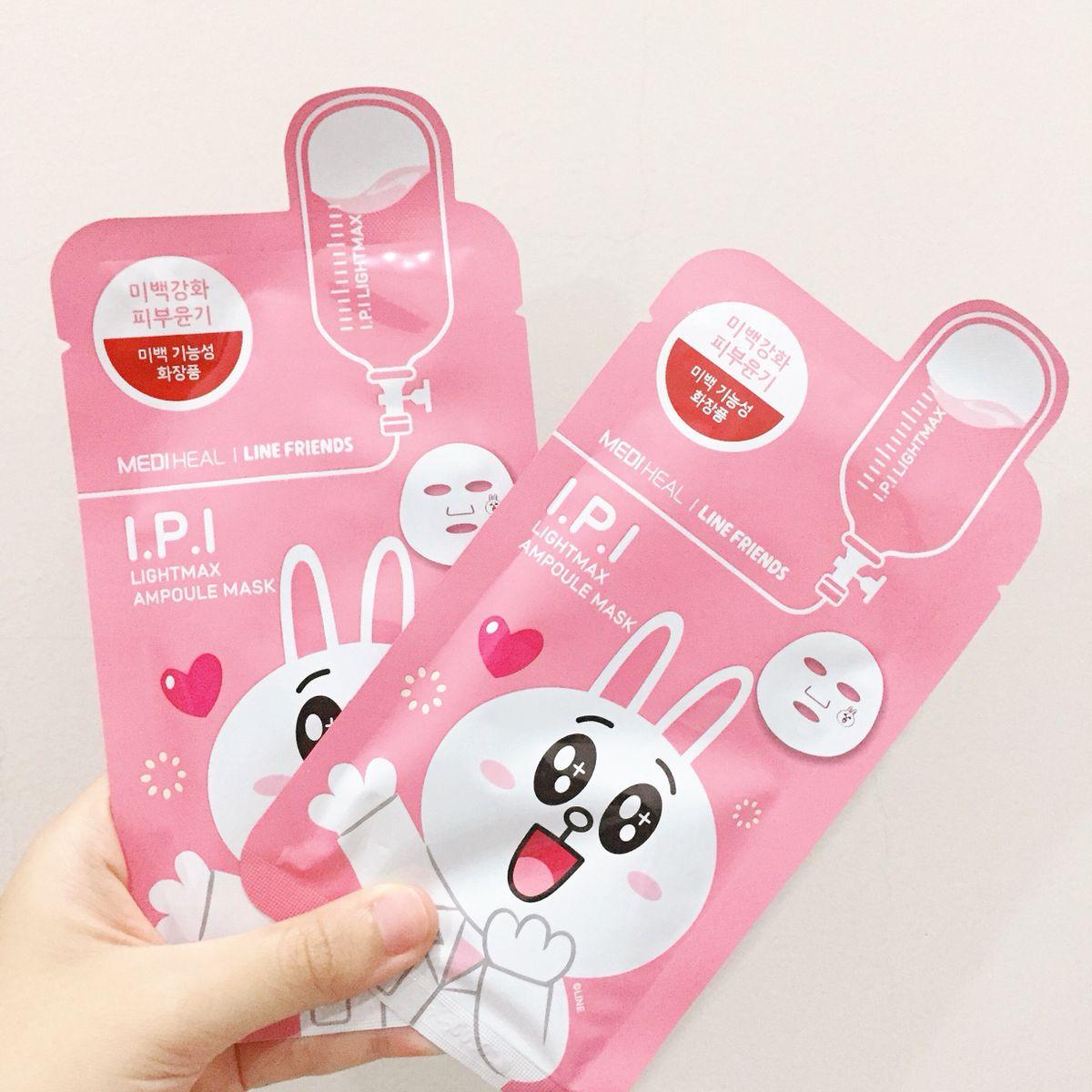 Cách sử dụng mặt nạMediheal Line-Friends Ampoule Mask Sheet 1