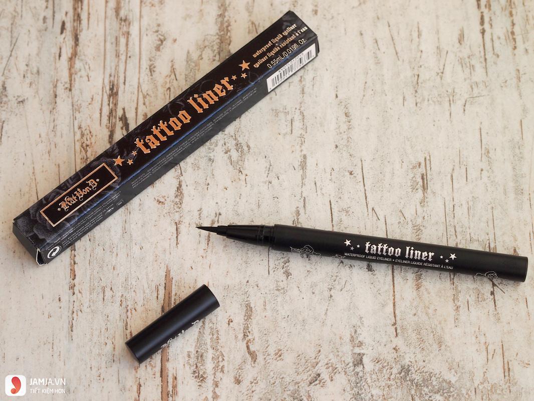 Kẻ mắt nước Kat Von D Tattoo Liner Liquid Eyeliner 2