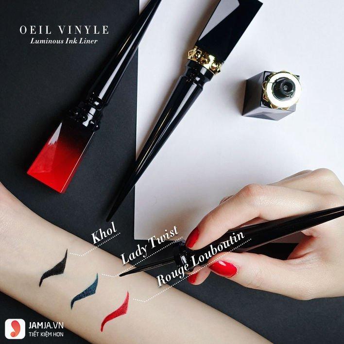Kẻ mắt nước Rouge Louboutin Oeil Vinyle Luminous Ink Liner 1