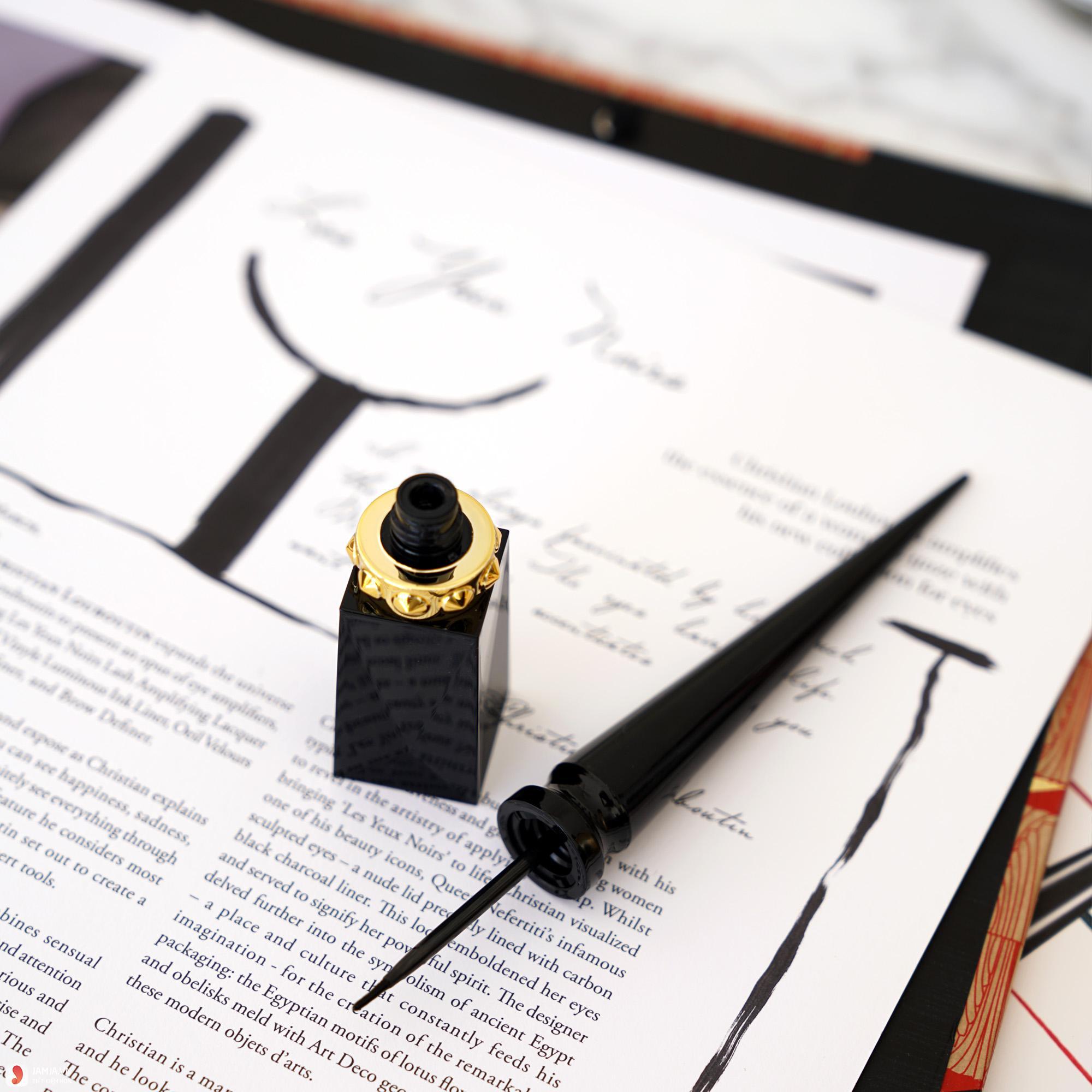 Kẻ mắt nước Rouge Louboutin Oeil Vinyle Luminous Ink Liner 2