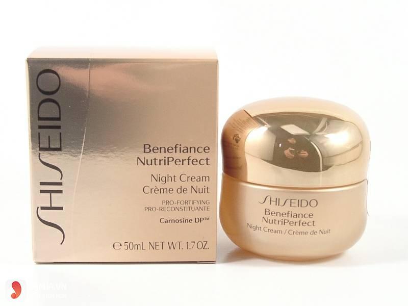 Kem dưỡng đêm cải thiện nếp nhăn Shiseido Benefiance Nutriperfect Night Cream