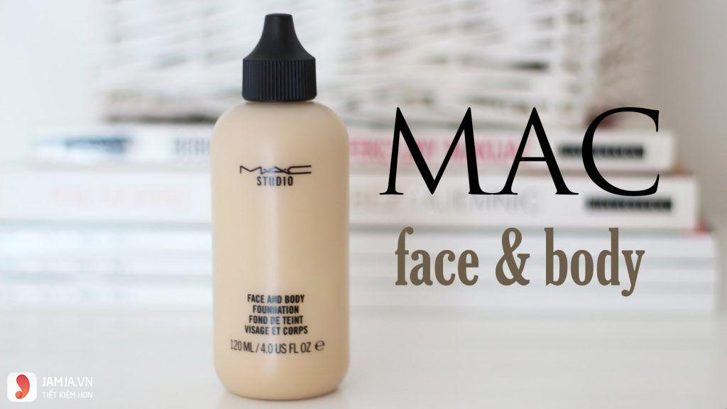 Kem nền M.A.C Cosmetics Studio Face And Body Foundation 2