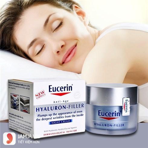 Kem ngăn ngừa lão hoá ban đêm Eucerin Hyaluron-Filler Night Cream