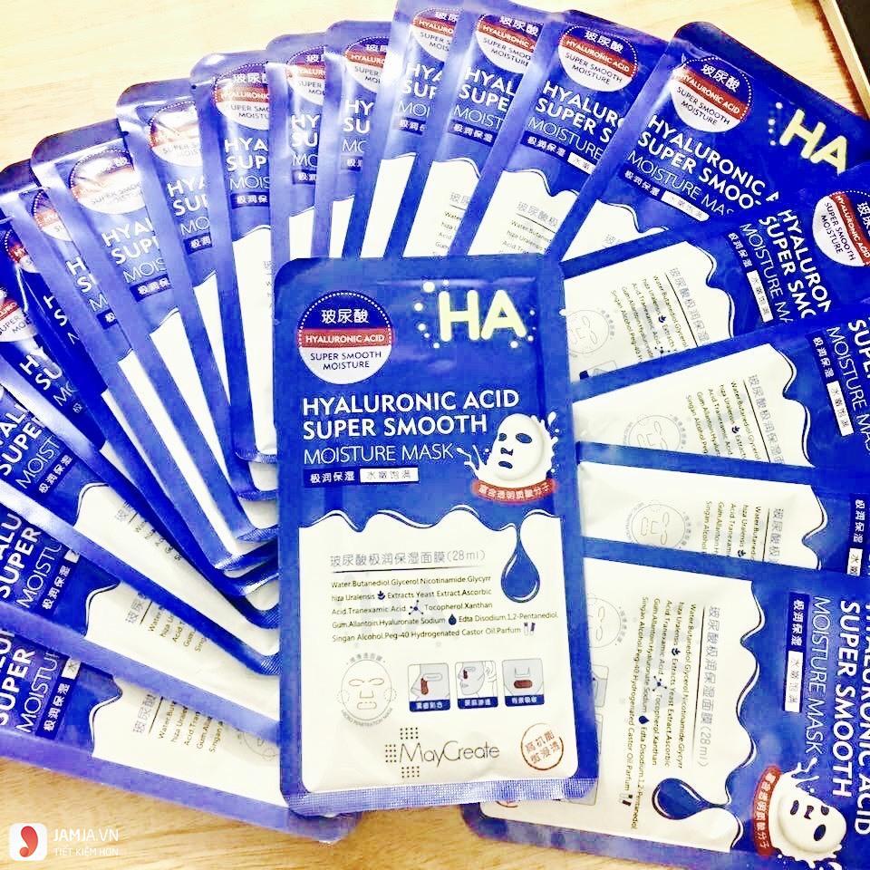 Mặt nạHyaluronic Acid Super Smooth Moisture Mask giá bao nhiêu