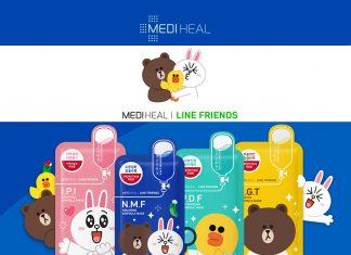 Mặt nạ Mediheal Line Friends 1