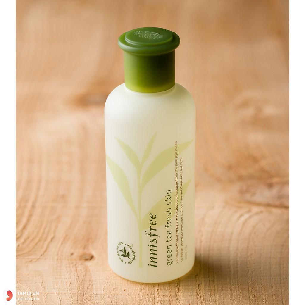 Nước hoa hồng trà xanh Innisfree Green Tea Fresh Skin 1