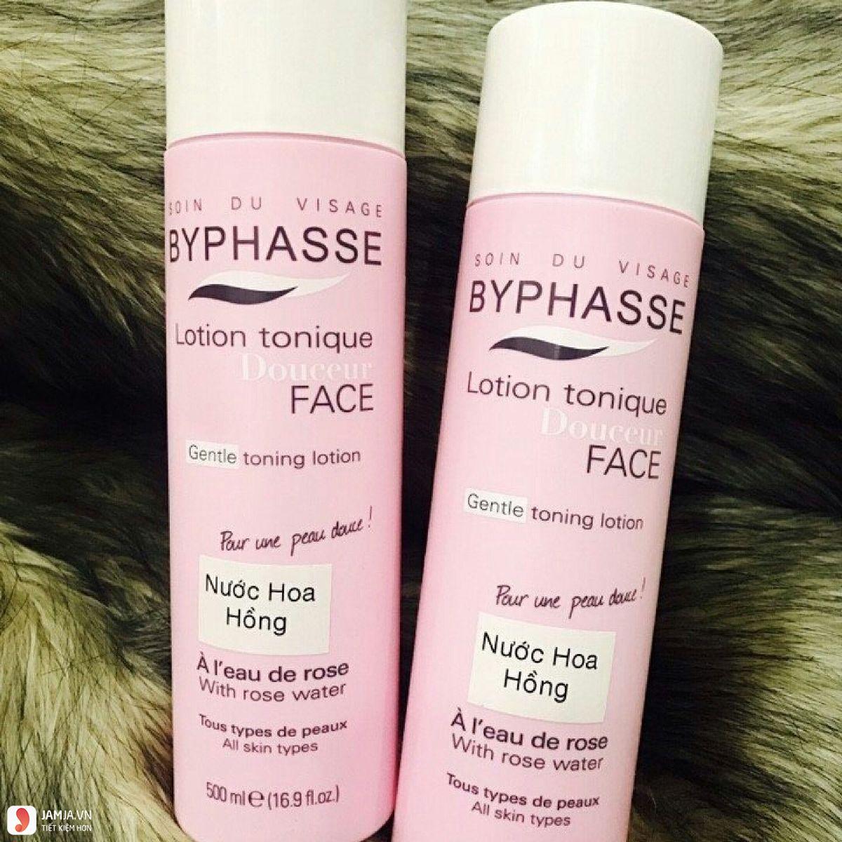 Nước hoa hồng Byphasse review chi tiết 1