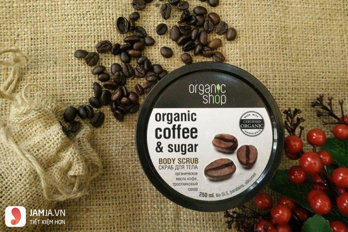 Organic Shop Organic Coffee & Sugar Body Scrub