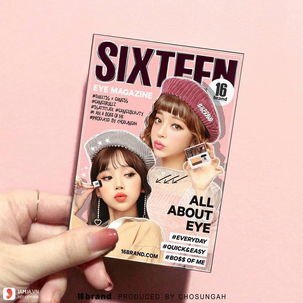 Phấn mắt 16Brand Sixteen2