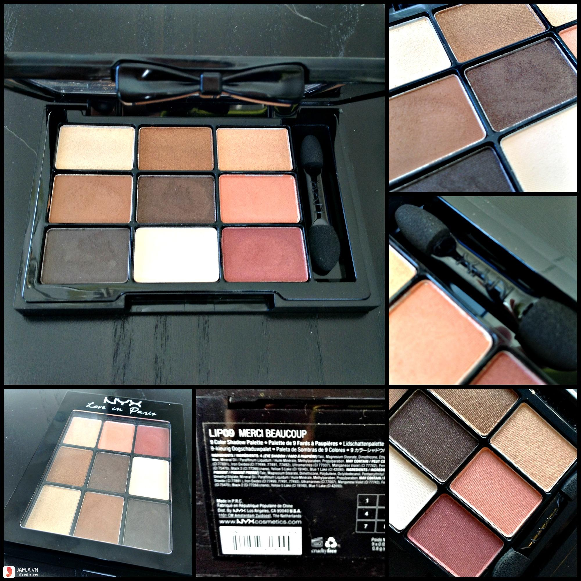 NYX Love in Paris Eyeshadow Palette ảnh2