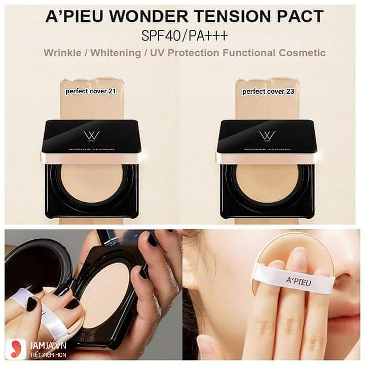 Phấn nước A'Pieu Wonder Tension Pact ảnh2