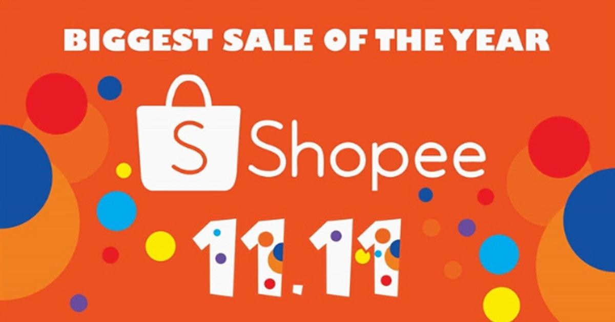 Shopee 11.11 khuyến mãi lớn