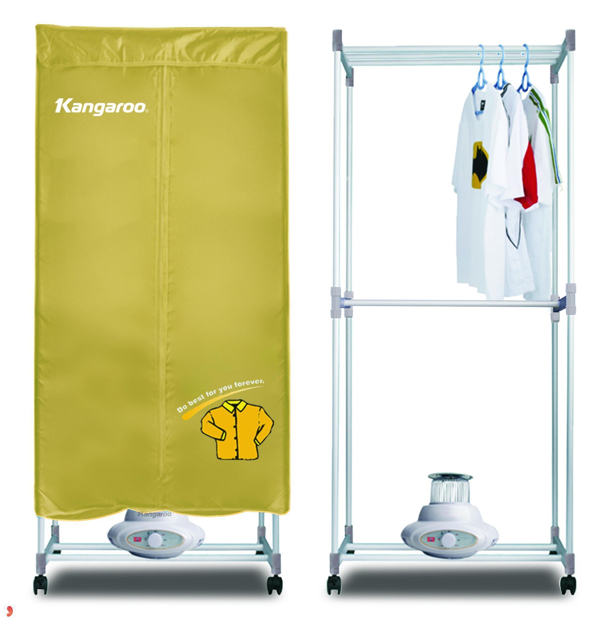 tủ sấy quần áo kangaroo
