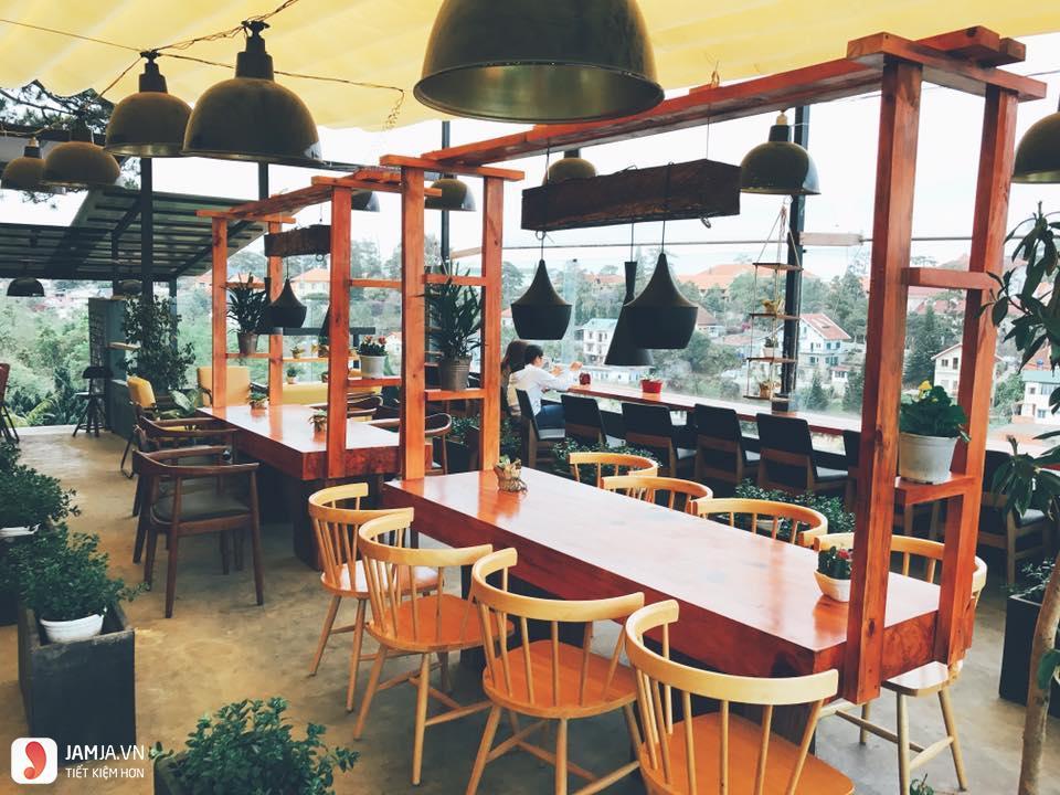 Up cafe Đà Lạt