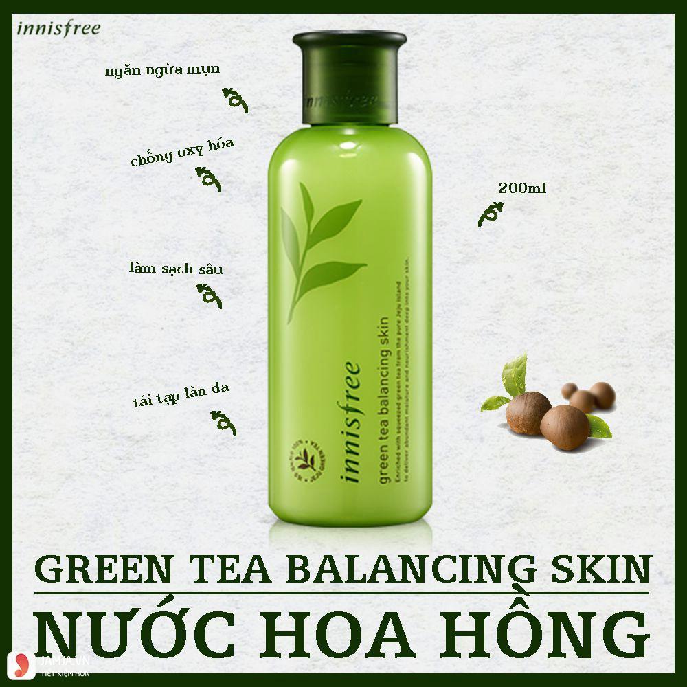 Ưu điểmInnisfree Green Tea Balancing Skin 1