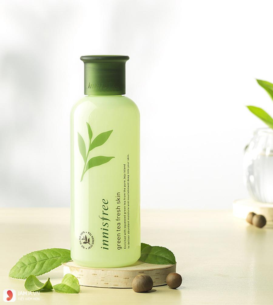Ưu điểmInnisfree Green Tea Fresh Skin 2