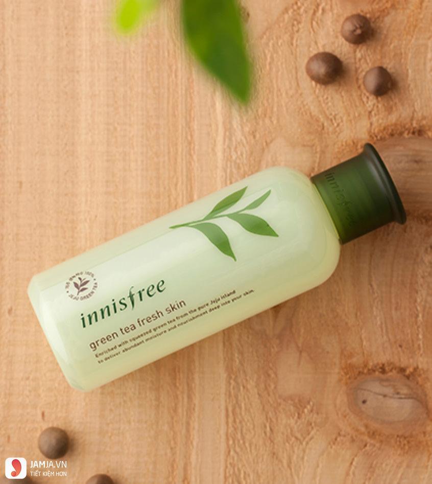 Ưu điểmInnisfree Green Tea Fresh Skin 1