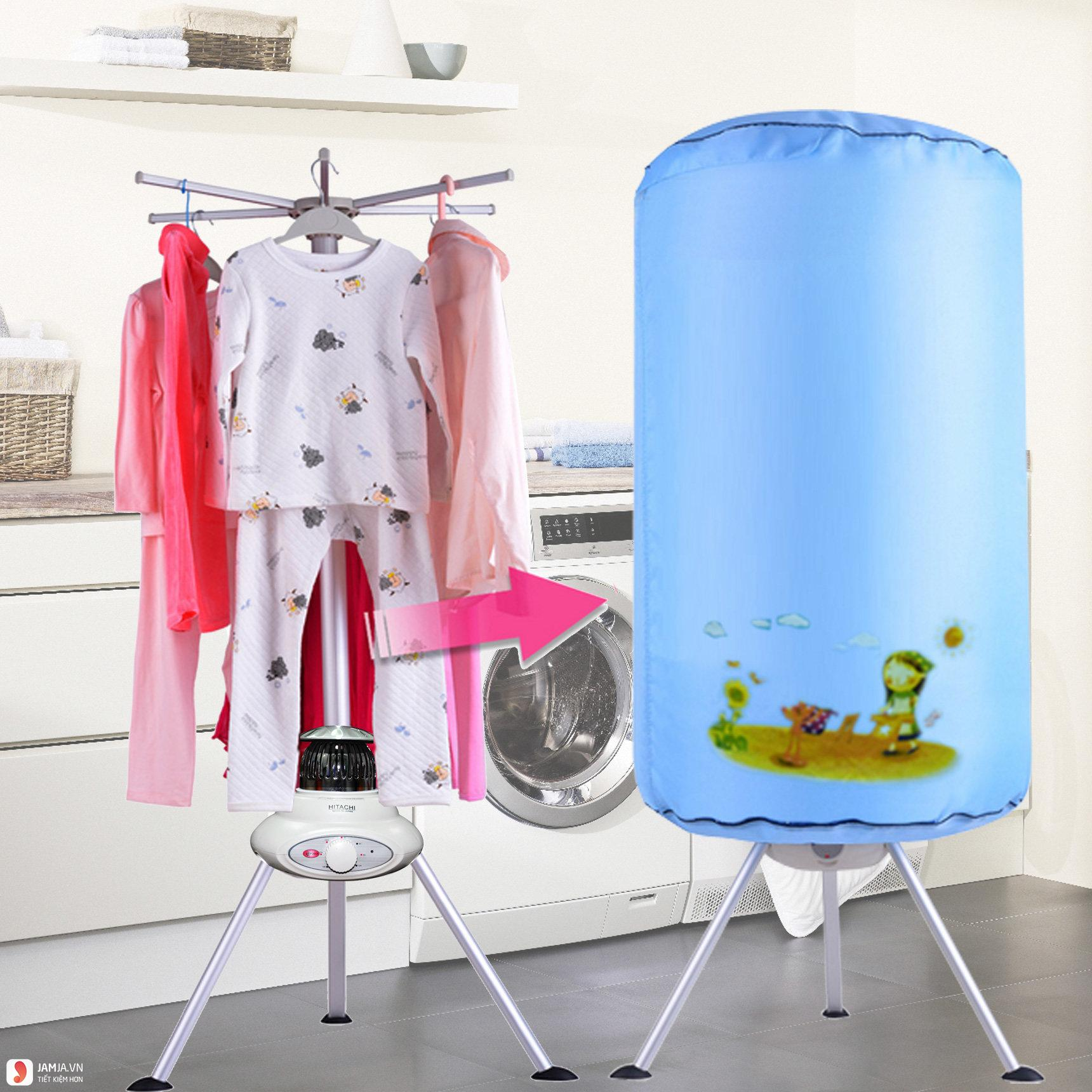 ưu điểm tủ sấy quần áo