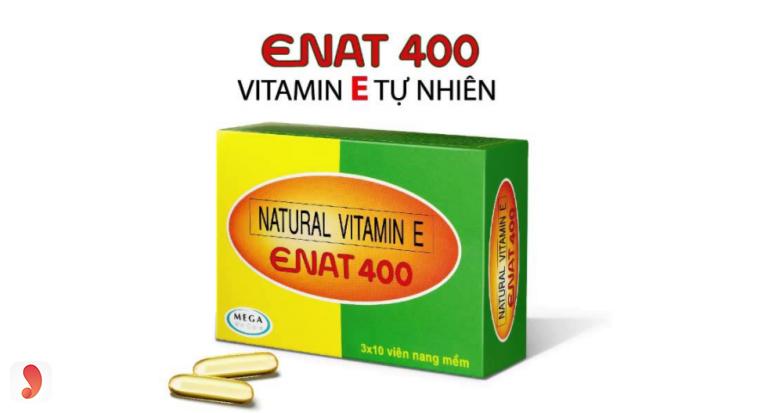 Vitamin E Enat 400 giá bao nhiêu