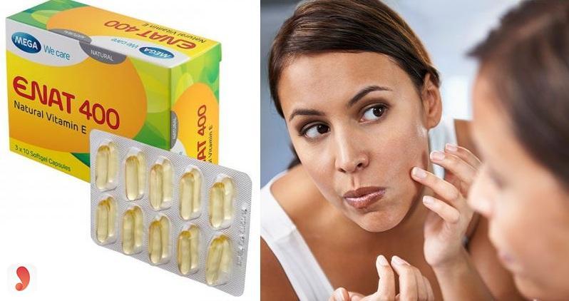 Vitamin E Enat 400 có công dụng gì
