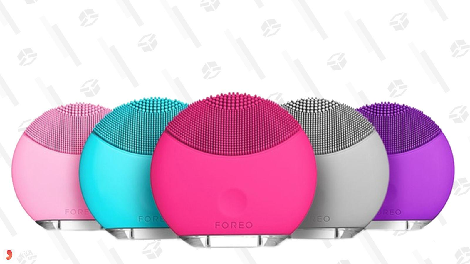 Foreo Luna mini stylish and compact face cleanser brush
