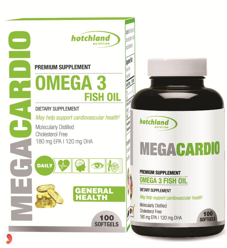 MegaCadio Omega 3 Fish Oil