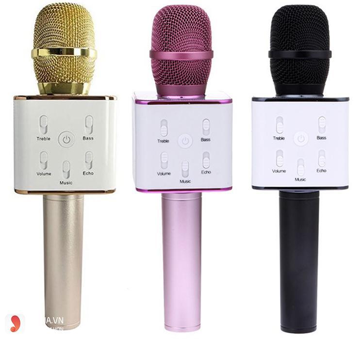 Micro hát karaoke bluetooth Q7