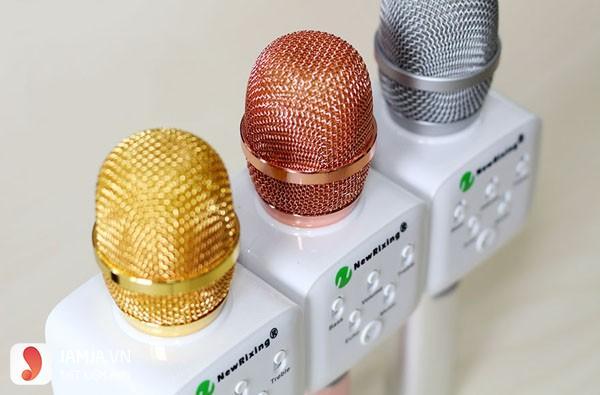 Micro karaoke bluetooth nhiều màu sắc